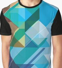 COLORFUL ABSTRACT GEOMETRIC SHAPES Graphic T-Shirt