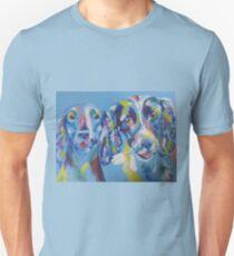 cocker spaniels Unisex T-Shirt