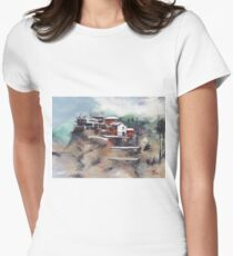 The Village Womens Fitted T-Shirt