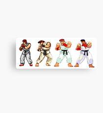 Street Fighter Ryu Canvas Print