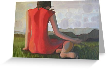 Girl in Red by Elohim Sanchez