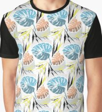 Cheese Plant - Azure Graphic T-Shirt