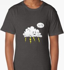 Angry Cloud Long T-Shirt