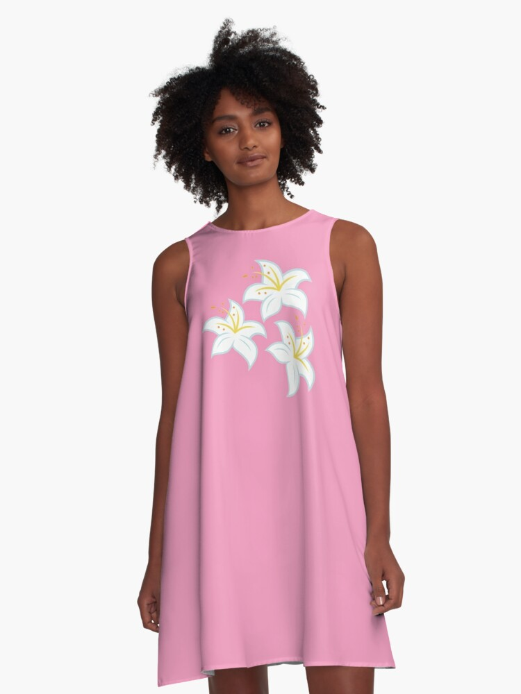 My little Pony - Lily Cutie Mark V3 A-Line Dress Front