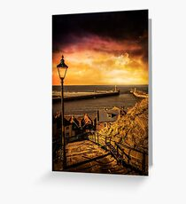 Whitby Wanderer Greeting Card