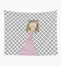 Pink lady from Casablanca Wall Tapestry