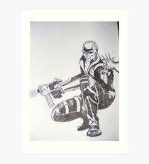 G I Joe's Destro Art Print