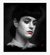 Rachel Blade Runner, I am the business Photographic Print