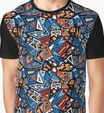 Pop art abstract seamless pattern. Fashion trendy design  Graphic T-Shirt