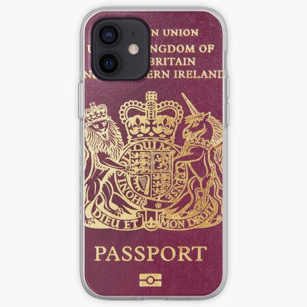British passport  iPhone Soft Case