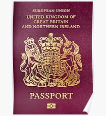 British passport  Poster