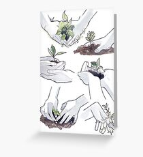 Hands + Plants Greeting Card