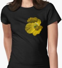 Summer Poppy Womens Fitted T-Shirt