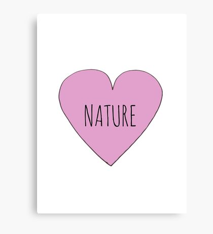 Nature Love Canvas Print