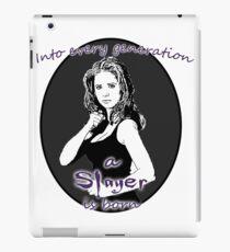 Buffy - Slayer iPad Case/Skin