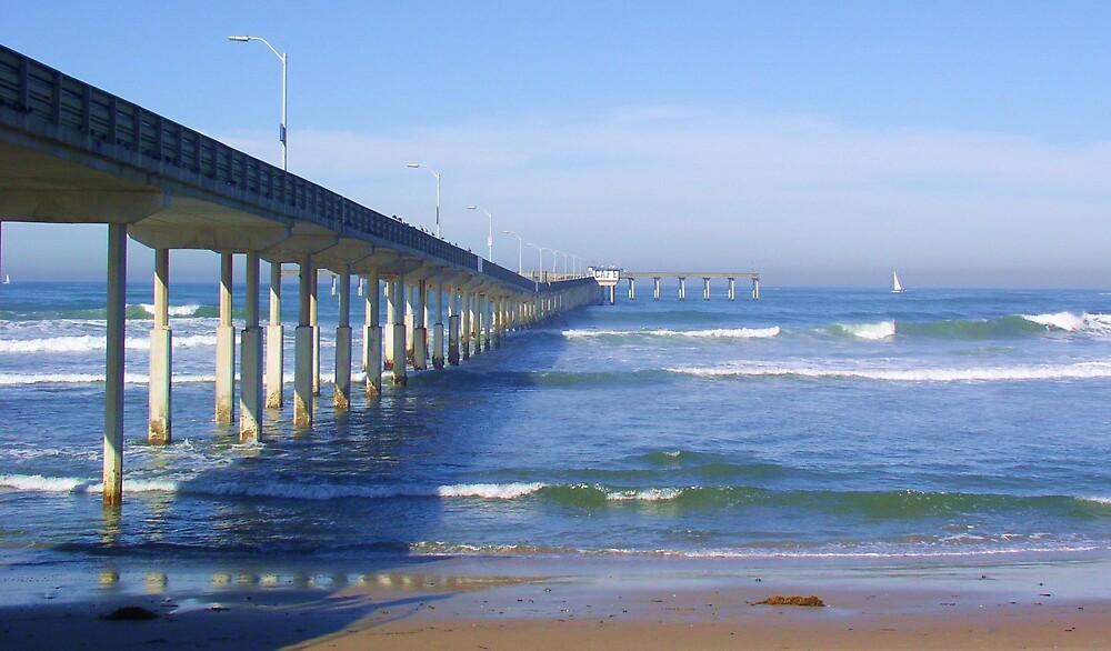 Ocean Beach Pier by pwrpony