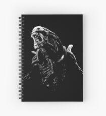 Alien Xenomorph Spiral Notebook