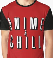 Anime & Chill Graphic T-Shirt