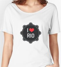 I love Rio Women's Relaxed Fit T-Shirt