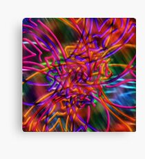 abstract one Canvas Print