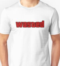 Wasted - GTA T-shirt Unisex T-Shirt