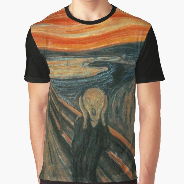 El grito - Munch Camiseta gráfica