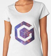 Galaxy Cube Women's Premium T-Shirt