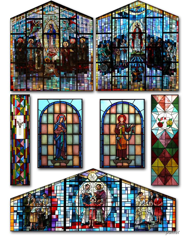 Stained Glass by puffer