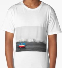 Red Boat, Blue Sails Long T-Shirt