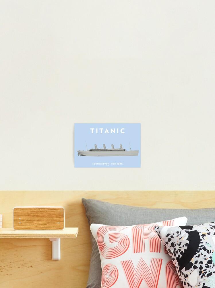 Titanic Captain Be British Framed /& Mounted Print