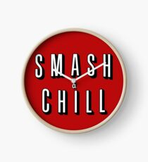 Smash & Chill Clock