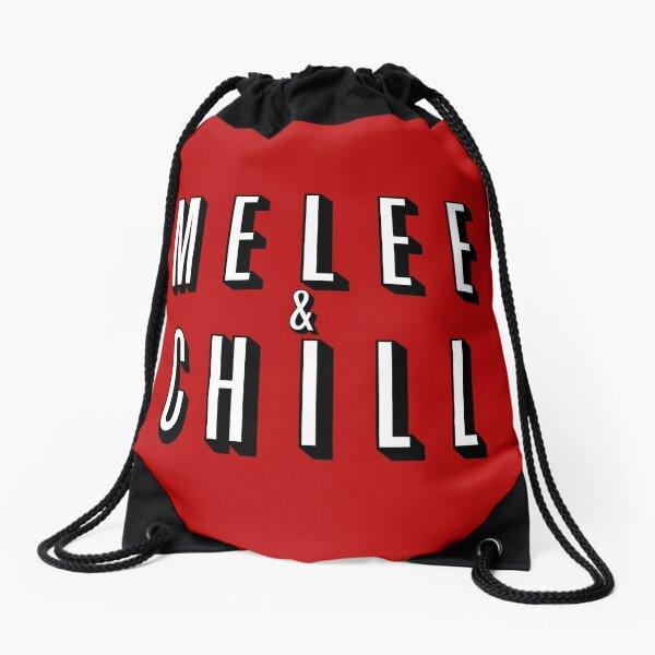 Melee & Chill Drawstring Bag