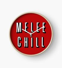 Melee & Chill Clock