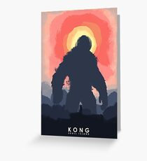 Kong Greeting Card
