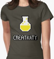 Creativity potion Womens Fitted T-Shirt