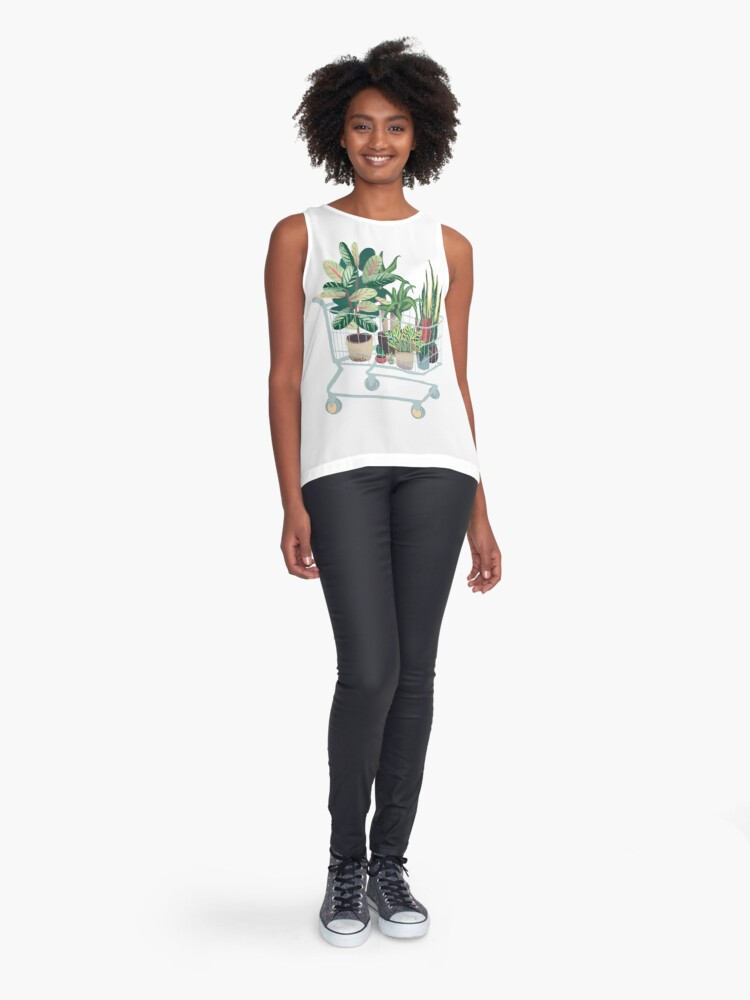 Alternate view of Plant friends Sleeveless Top