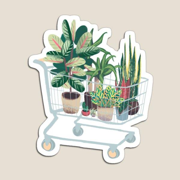 Plant friends Magnet