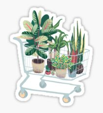 Plant friends Sticker