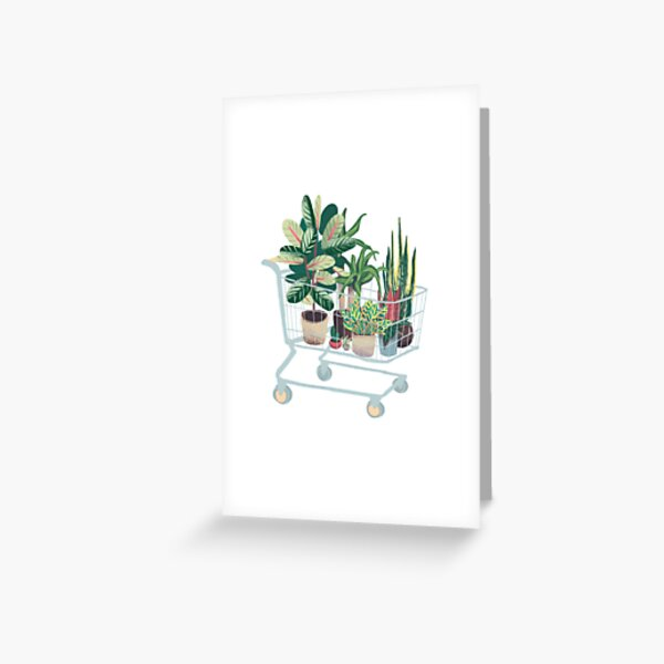 Plant friends Greeting Card