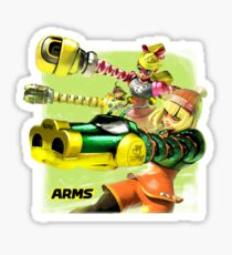 ARMS: FEMALE FIGHTERS Sticker