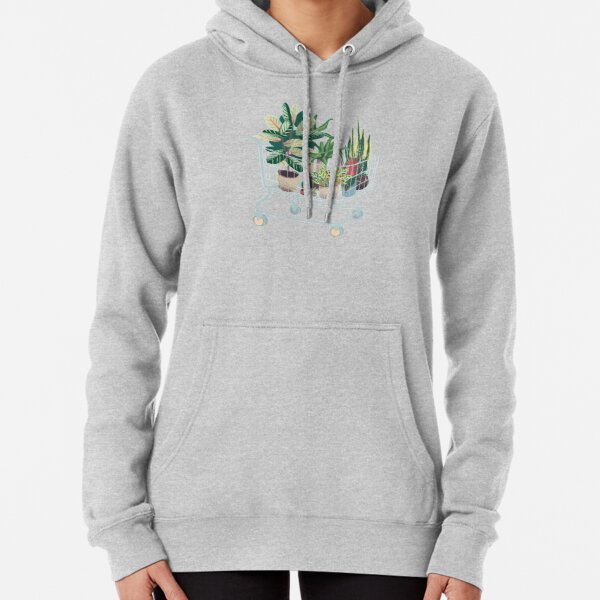Plant friends Pullover Hoodie