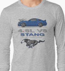 05-09 Blue Long Sleeve T-Shirt