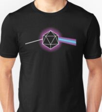 Dungeons and Dragons Dark Side of the Moon Unisex T-Shirt