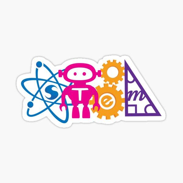 STEM! horizontal Sticker