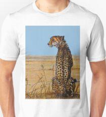 Patience, Cheetah Artwork Unisex T-Shirt