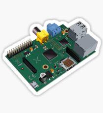 Raspberry Pi board Sticker