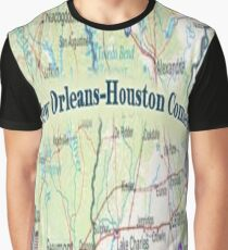 Houston-NOLA Graphic T-Shirt