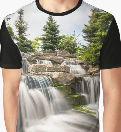 Richmond Green Waterfall Graphic T-Shirt