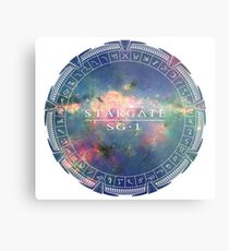 Stargate to the Galaxy Metal Print