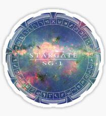 Stargate to the Galaxy Sticker